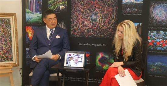 世界级艺术家黄建南与著名主持人谈艺术与东京奥运会:文体不分家